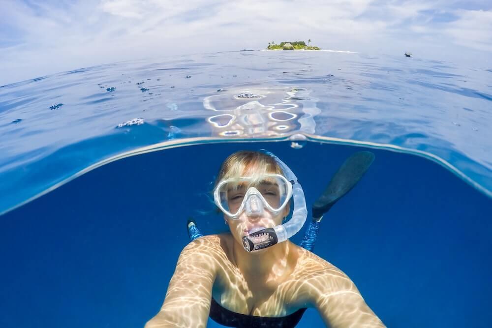 シュノーケル 水中カメラ おすすめ シュノーケリング ダイビング 水中撮影