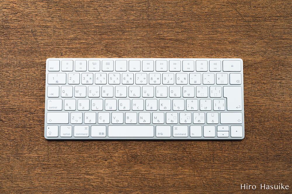 Magic Keyboard レビュー MacBook Pro