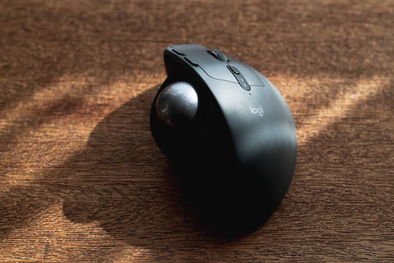 ロジクール MX REGO レビュー トラックボール マウス 在宅 リモートワーク